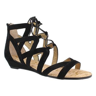 Lds Dawson black casual sandal