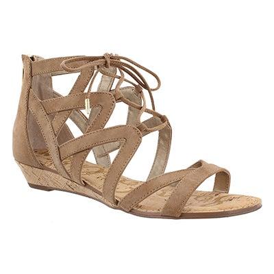 Lds Dawson caramel casual sandal