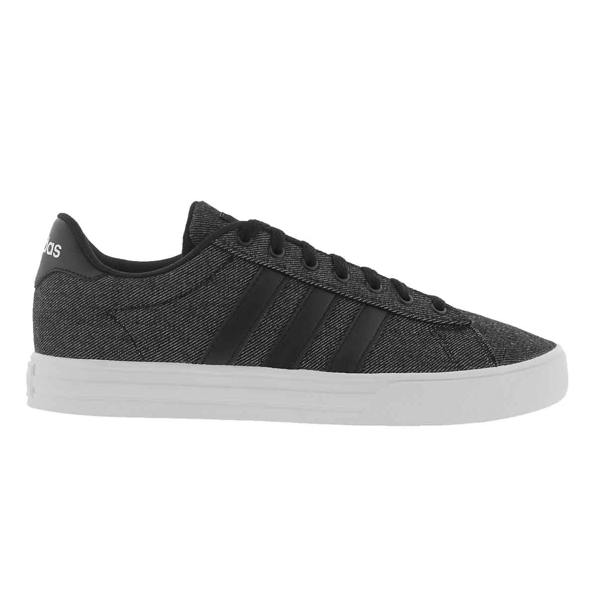 Men Men Men Adidas Daily 2.0 Denim Sneakers DB0284 Black