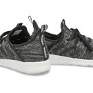 Lds Cloudfoam Pure black running shoe