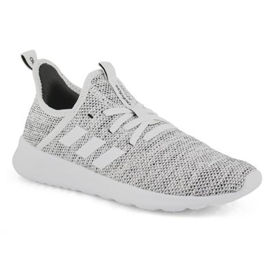 Lds Cloudfoam Pure wht/gry running shoe