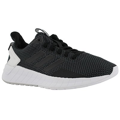 Lds Questar Ride blk/gry running shoe