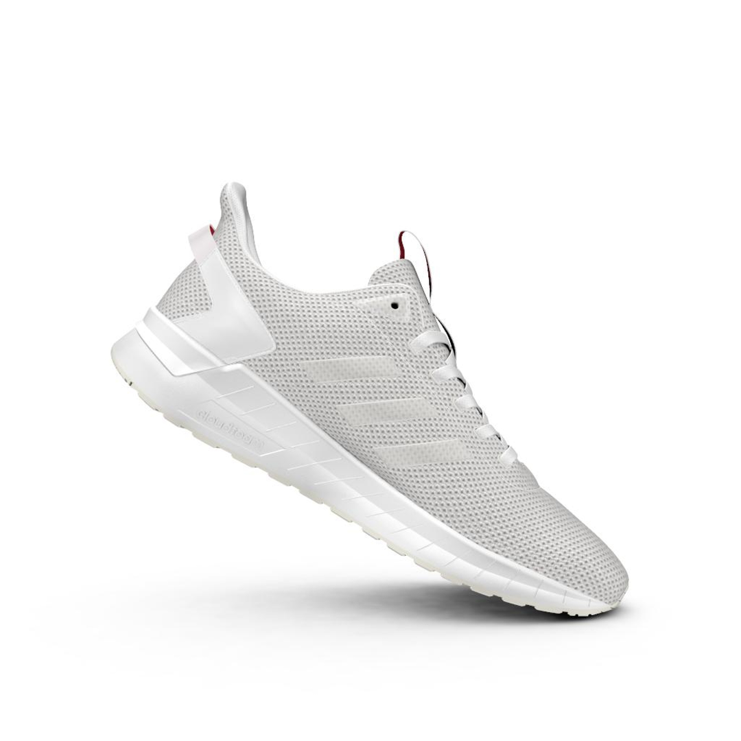Mns Questar Ride wht/gry running shoe