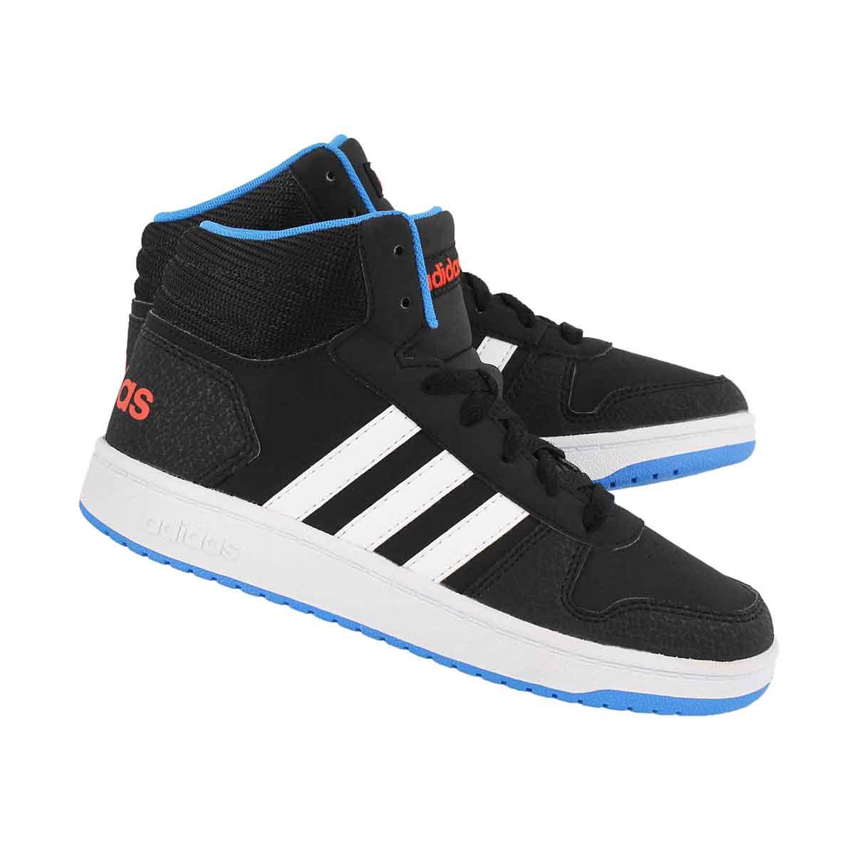 Bys V5 Hoops Mid 2.0 blk/ blu sneaker