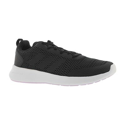 Lds CF Element Race blk/wht running shoe