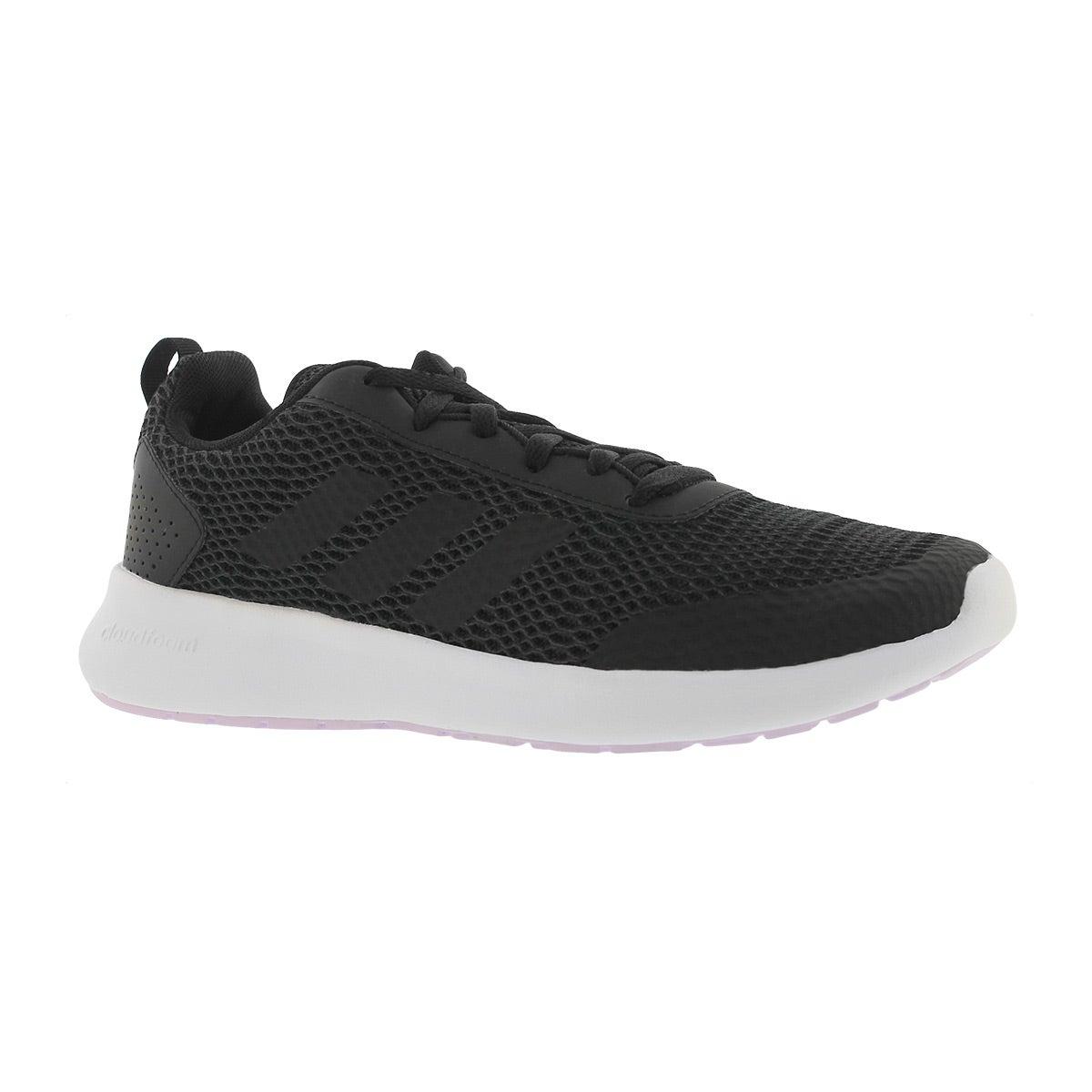 Women's CF ELEMENT RACE black/white running shoes