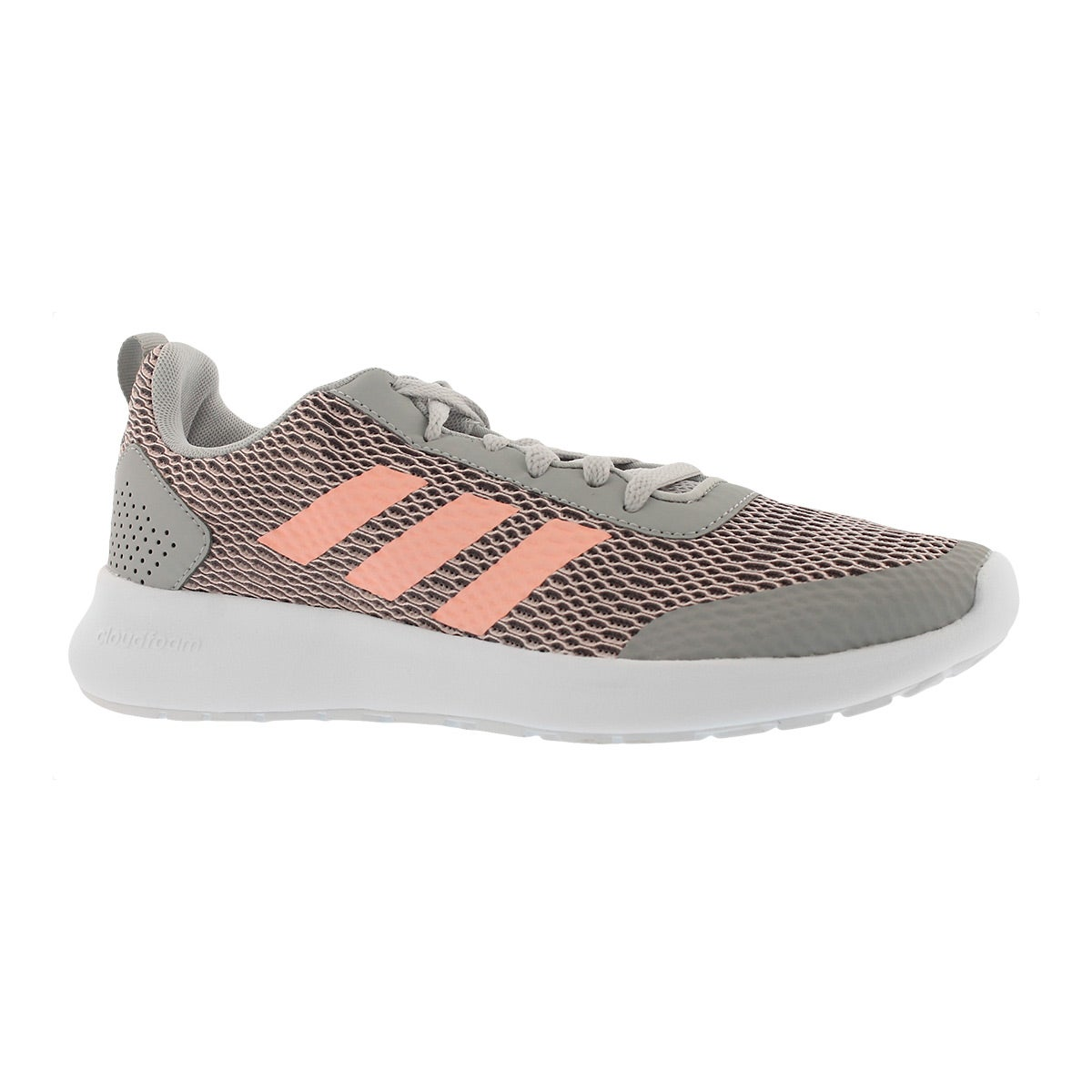 Women's CF ELEMENT RACE grey/coral running shoes