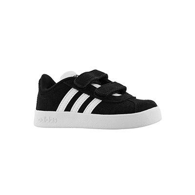 Inf VL Court 2.0 CMF I blk/wht sneaker