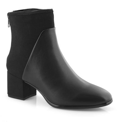 Lds Dea black vegan dress bootie