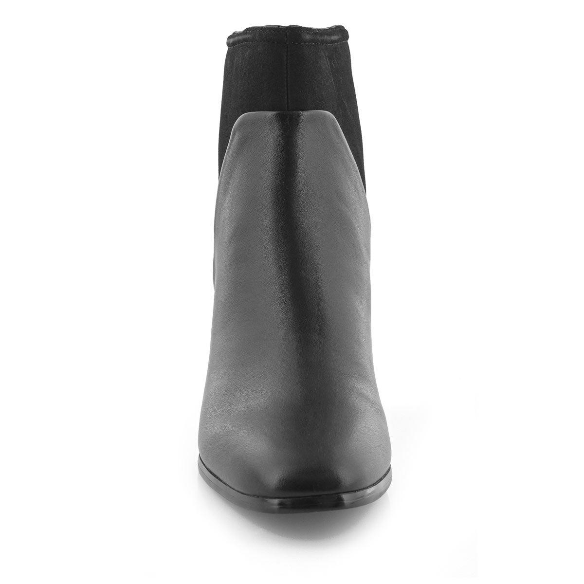 Lds Dea black vegan dress bootie