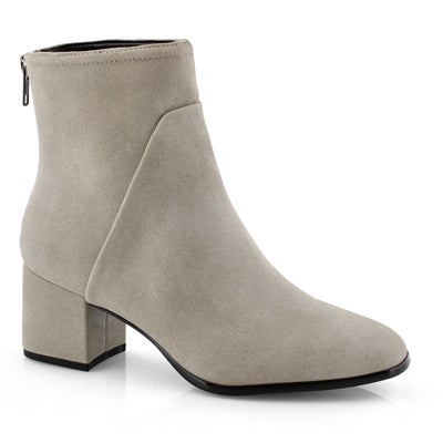 Lds Dea grey vegan dress bootie
