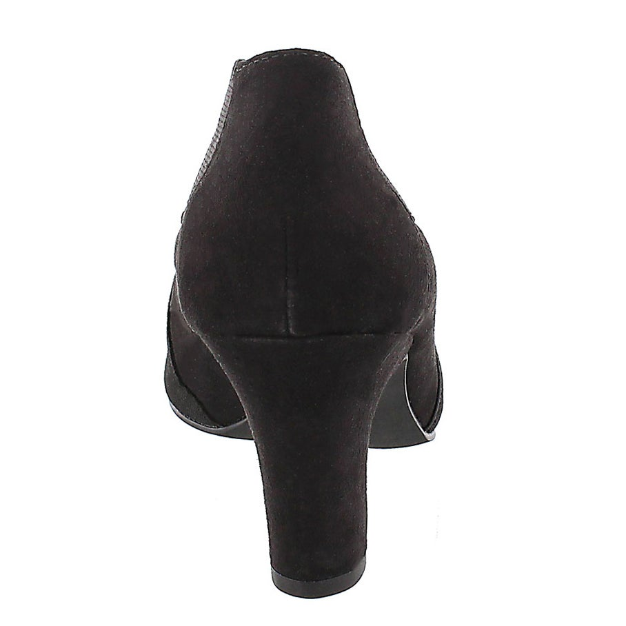 Lds Deanna blk lo dress bootie