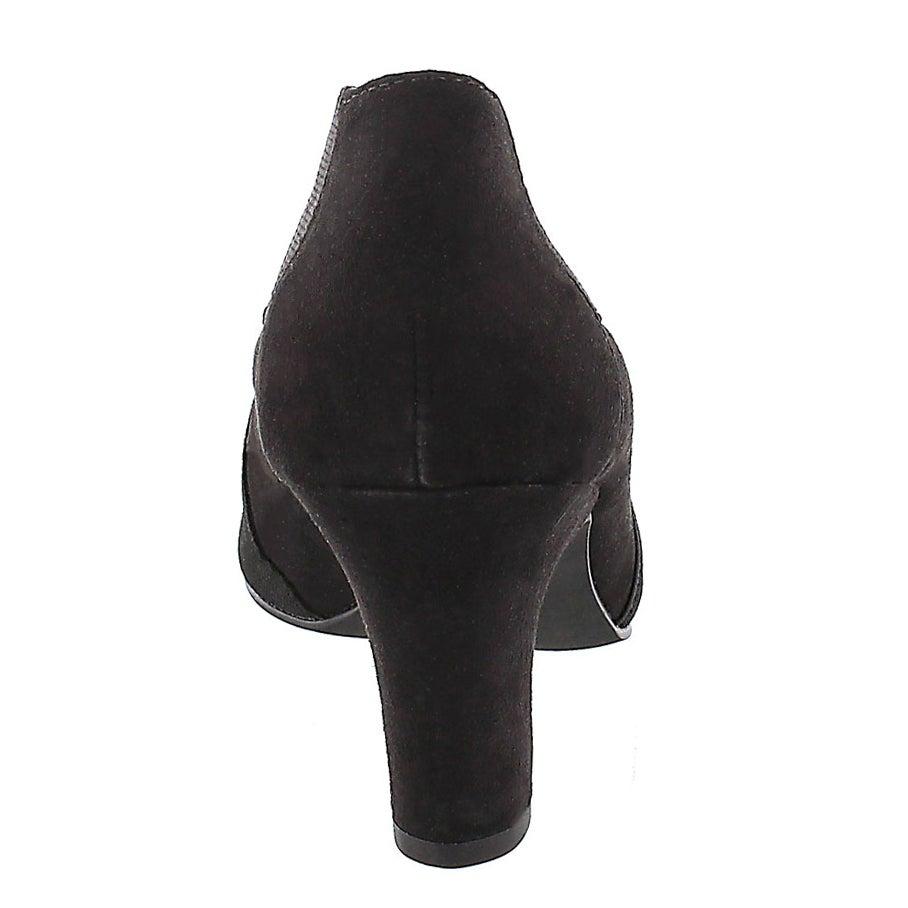 Lds Deanna blk lo dress bootie