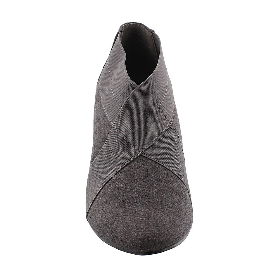 Lds Deanna grey lo dress bootie