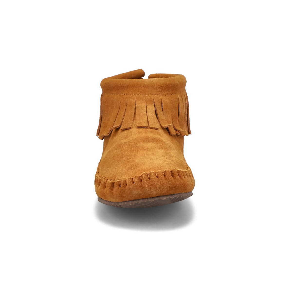 Lds DebraLo II ches suede back zip moc