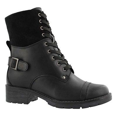Lds Deedee 2 black combat boot