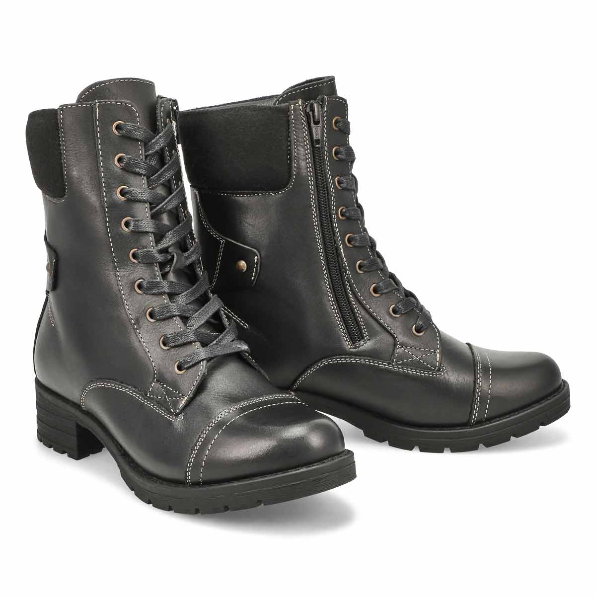 Lds DeeDee 3 black combat boot