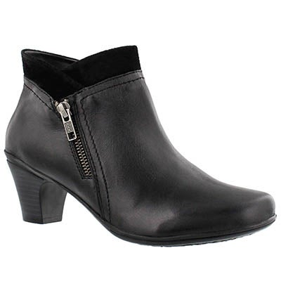 SoftMoc Women's DEIDRE black dress booties