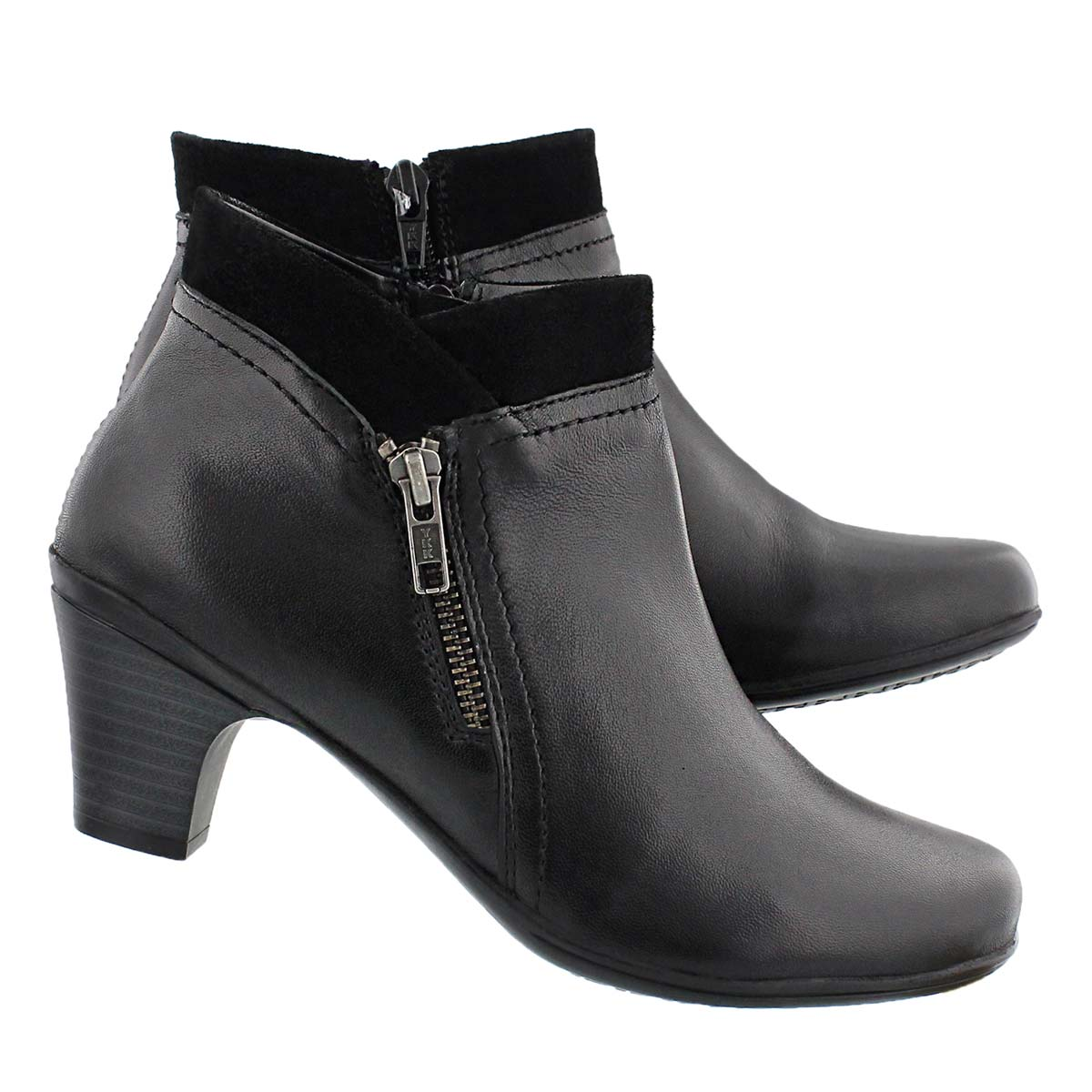 Lds Deidre black dress bootie