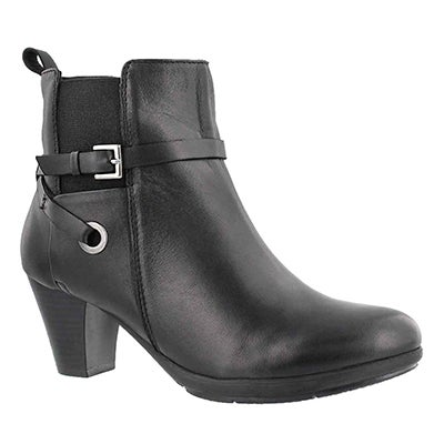 Lds Delicia black dress bootie
