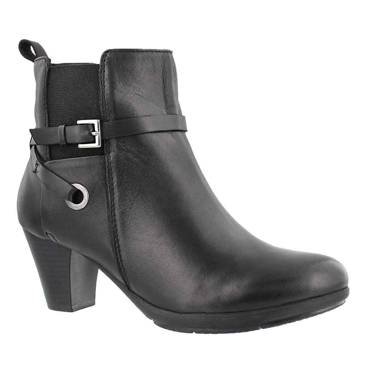 Women's DELICIA black dress bootie
