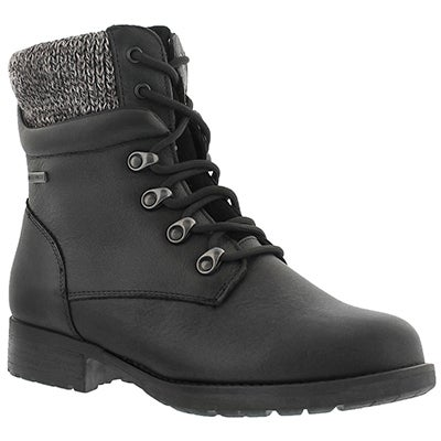 Lds Derry black wtpf winter boot