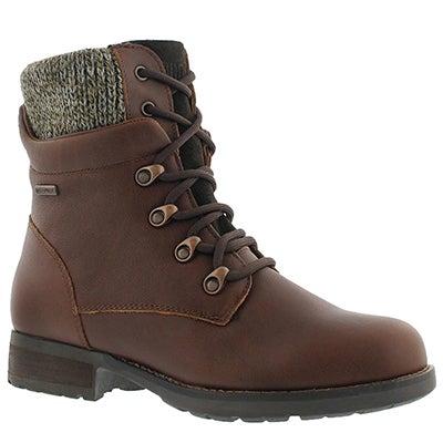 Cougar Women's DERRY dark brown waterproof winter boots