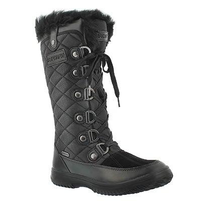 Lds Destiny blk wtrpf winter boot