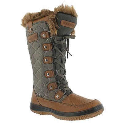 Superfit Women's DESTINY brown waterproof winter boots