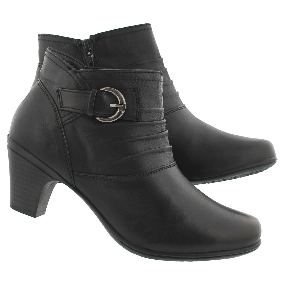 Lds Dharma black dress bootie-wide
