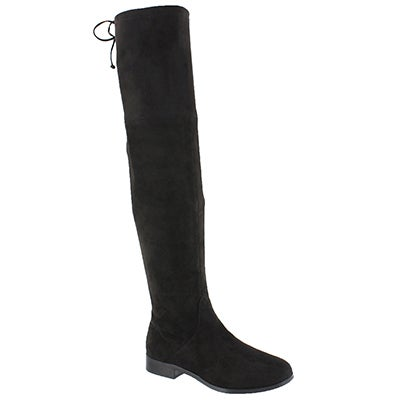 Lds Didi black knee high boot