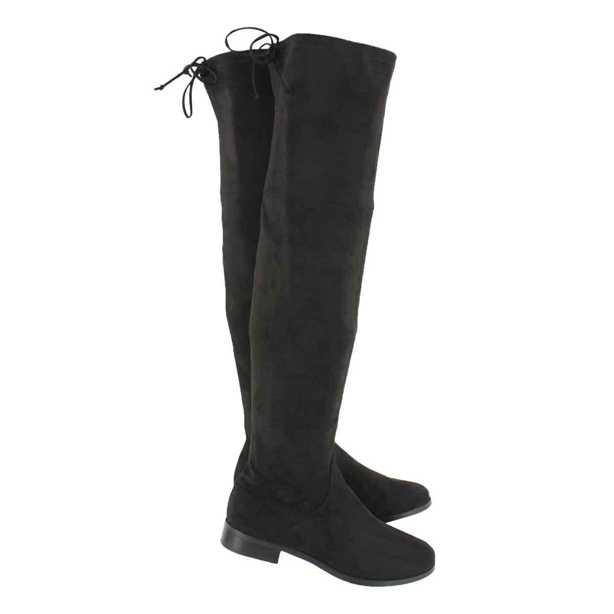 Lds Didi black knee high boot
