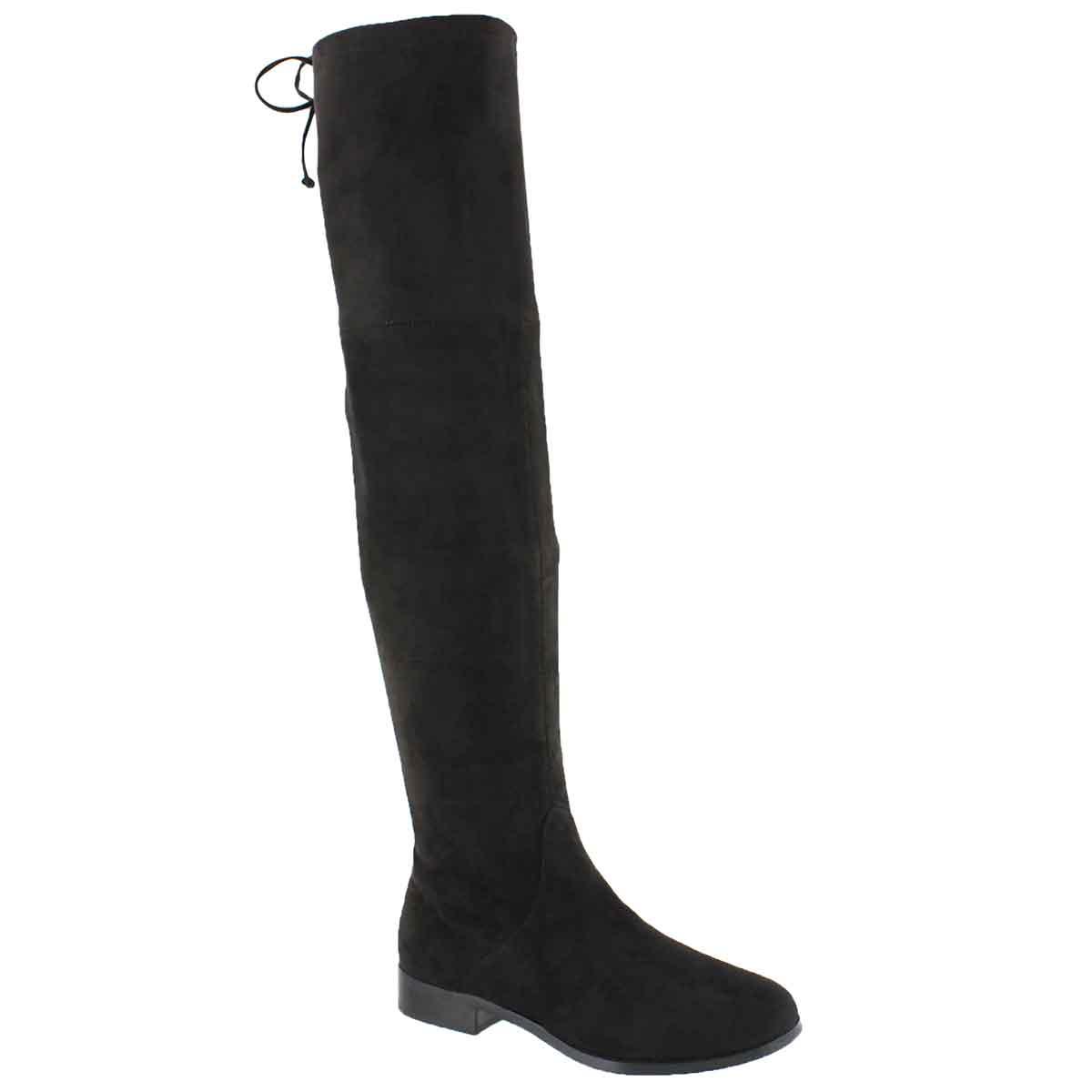 Women's DIDI black knee high boots