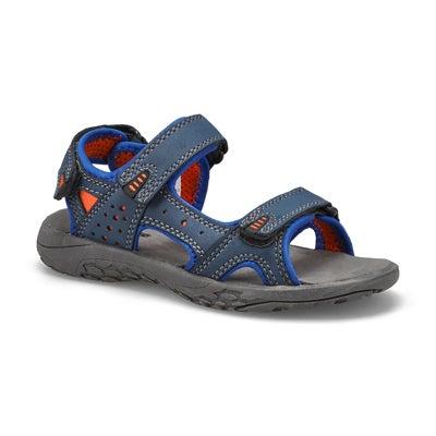 Bys Diego navy orange sport sandal
