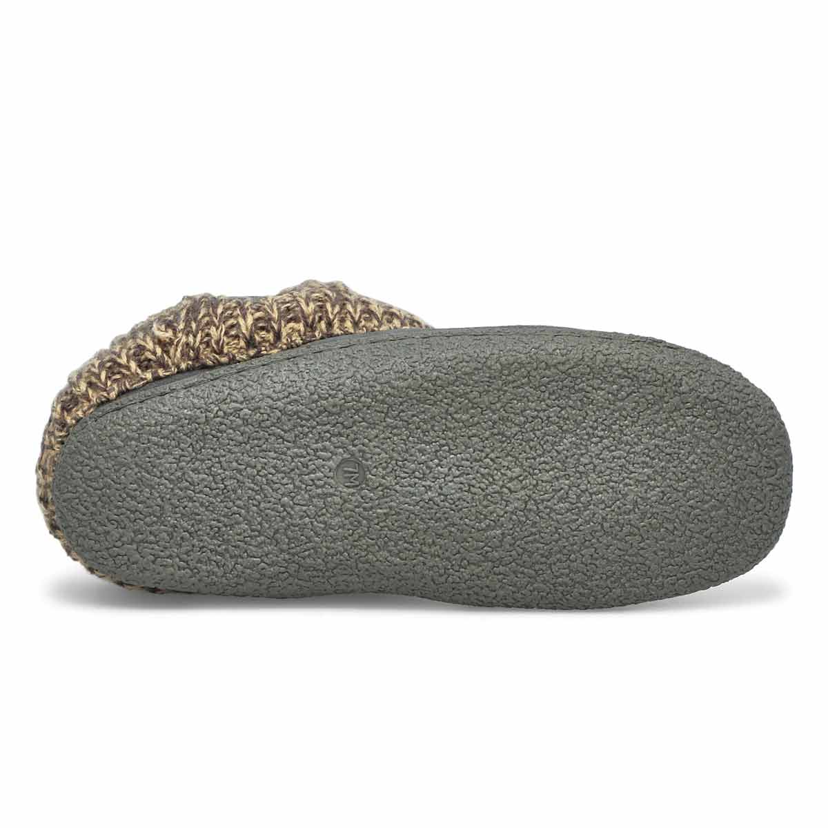 Lds Dini grey memory foam slipper