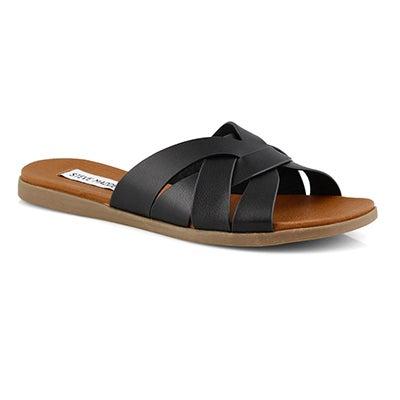 Lds Dinza black wedge sandals