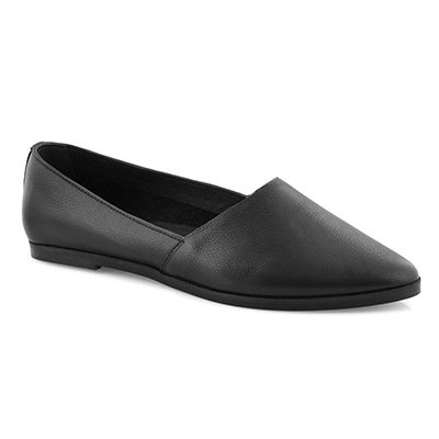 Lds Diva black casual flat