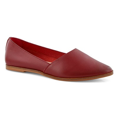 Lds Diva red casual flat