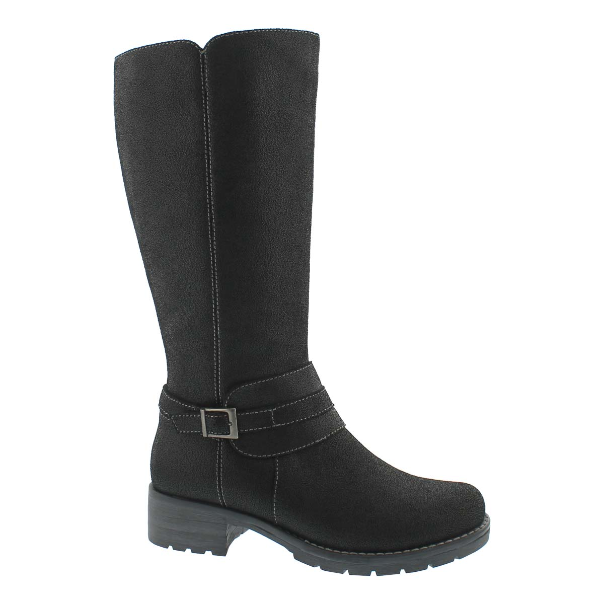 Women's DOMINIQUE 2 black tall riding boots