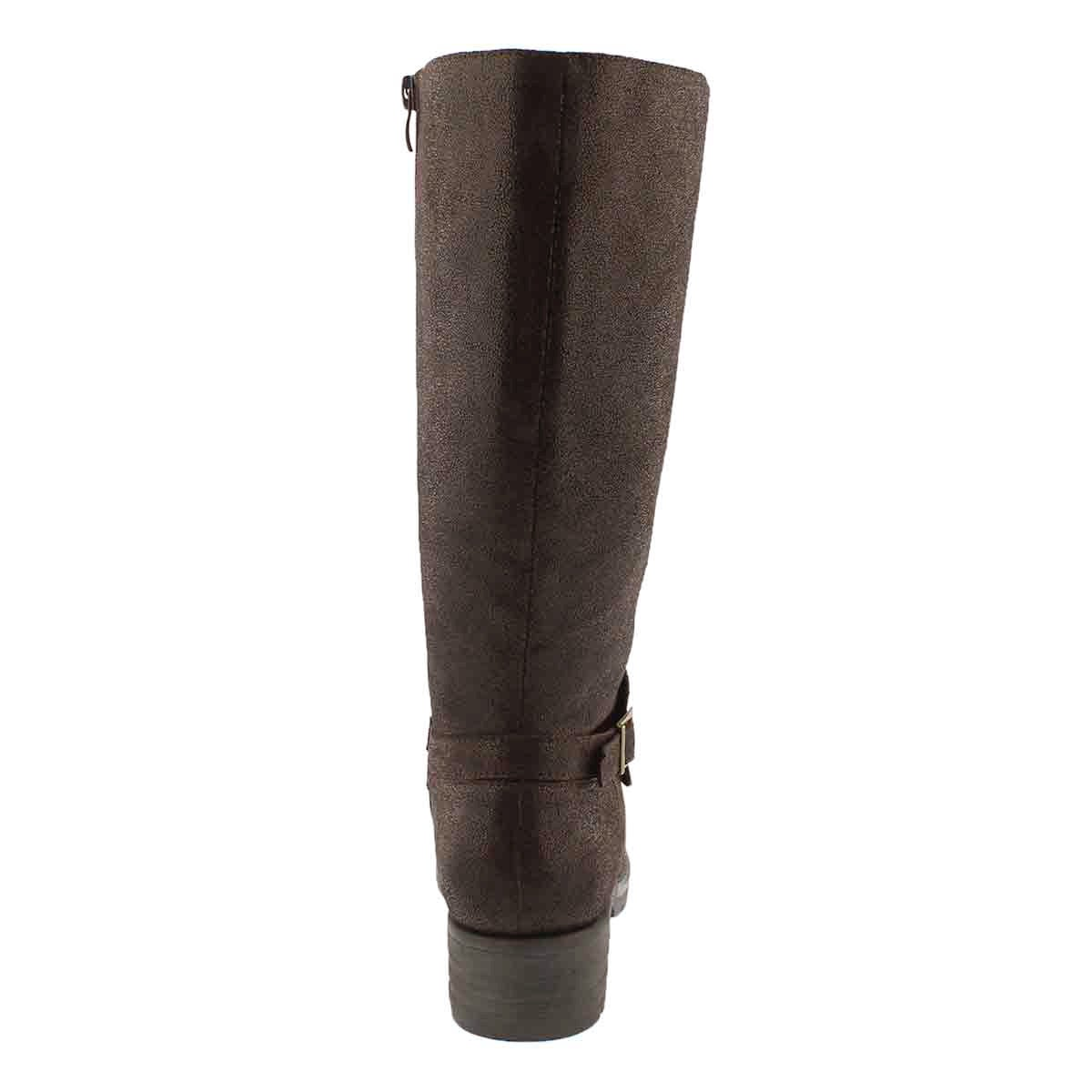 Lds Dominique 2 brown tall riding boot