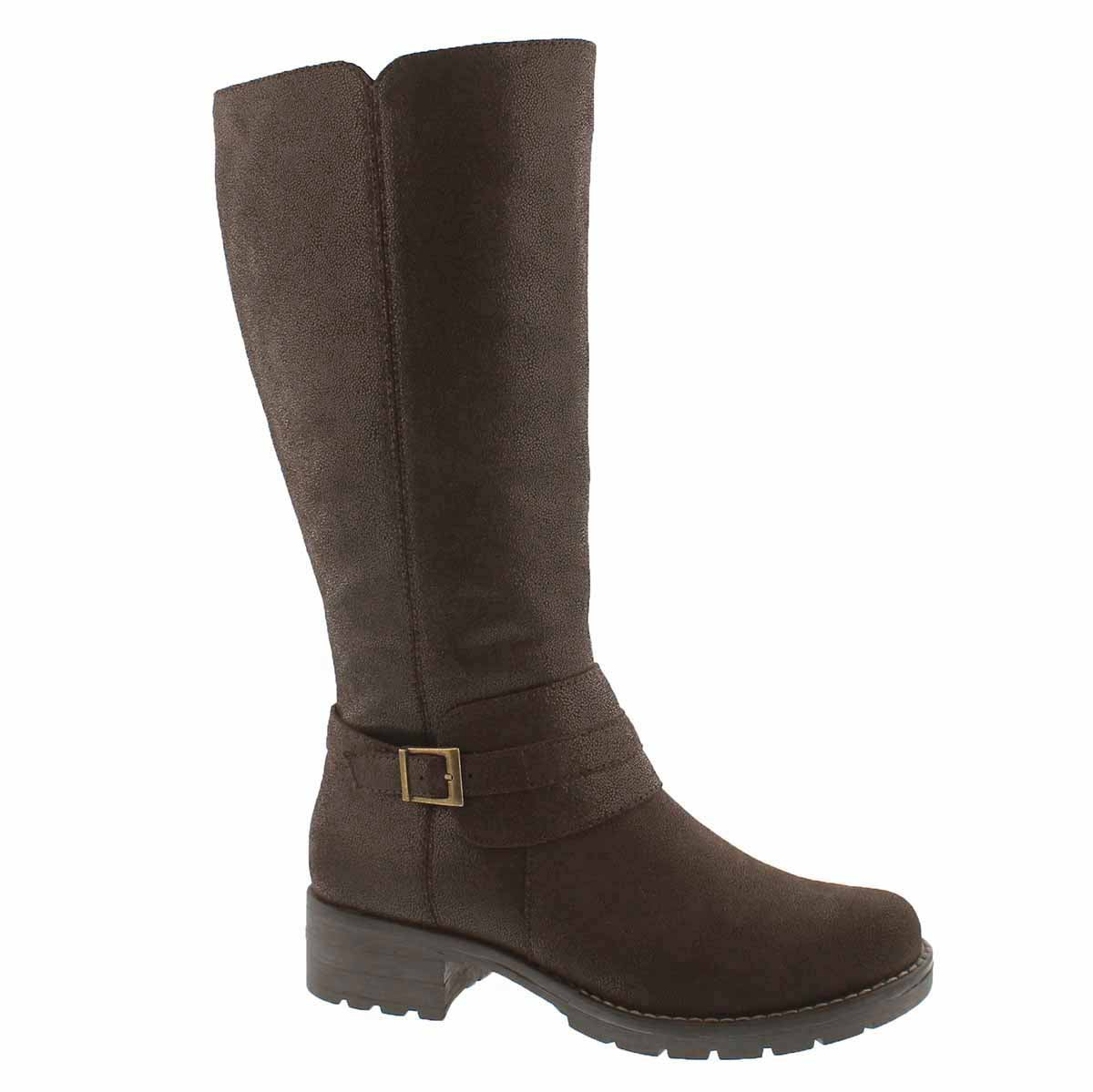 Women's DOMINIQUE 2 brown tall riding boots