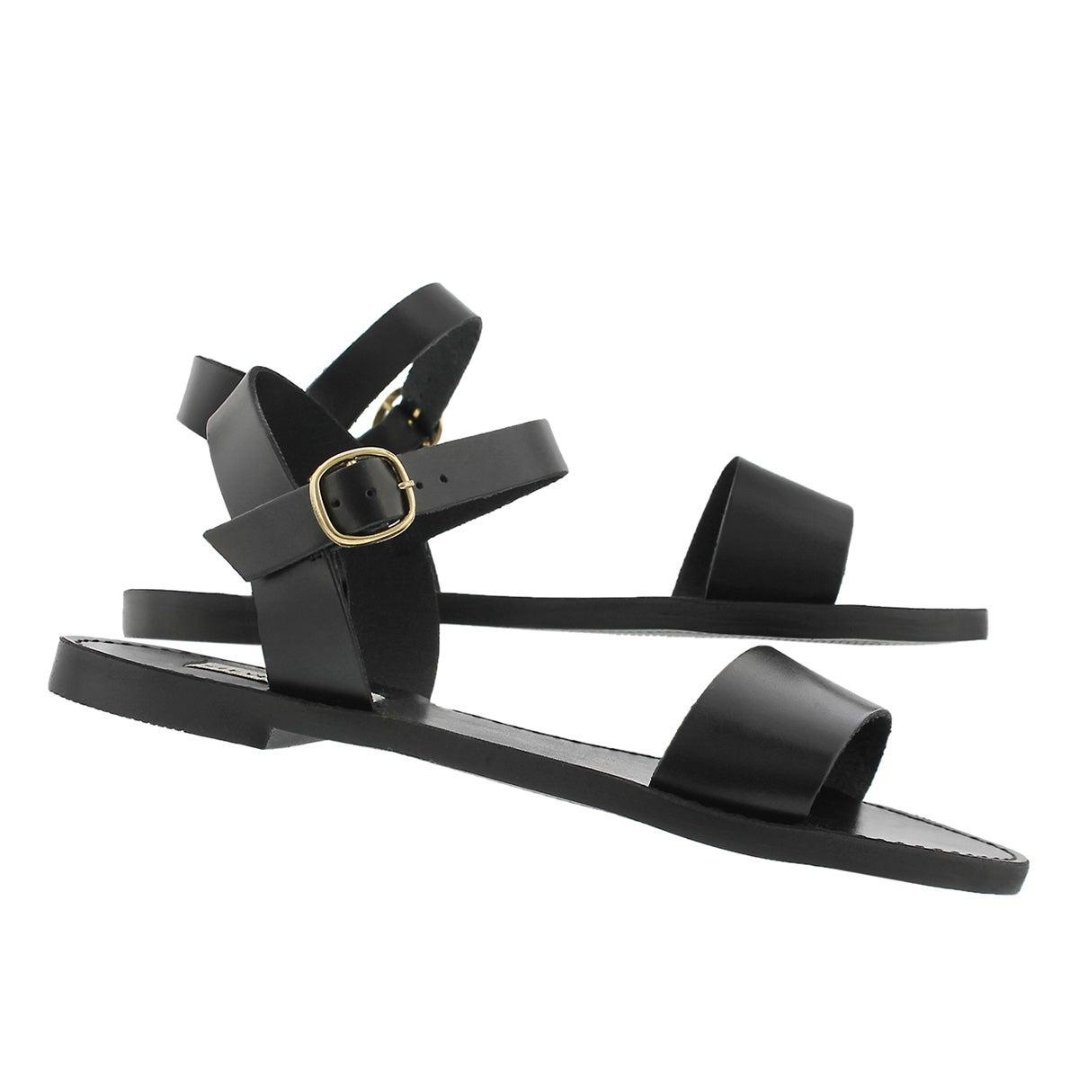 Lds Dondi black casual sandal