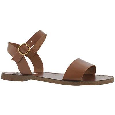 Lds Dondi cognac casual sandal