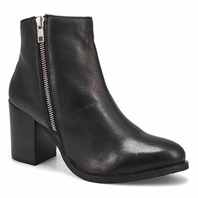 Lds Dorothy black side zip ankle bootie