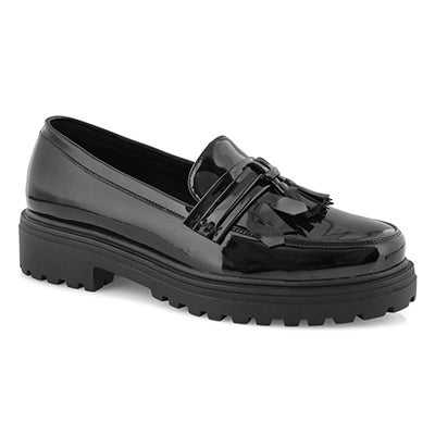 Lds Dory black casual loafer