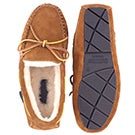 Mns Doyle chestnut suede moccasin