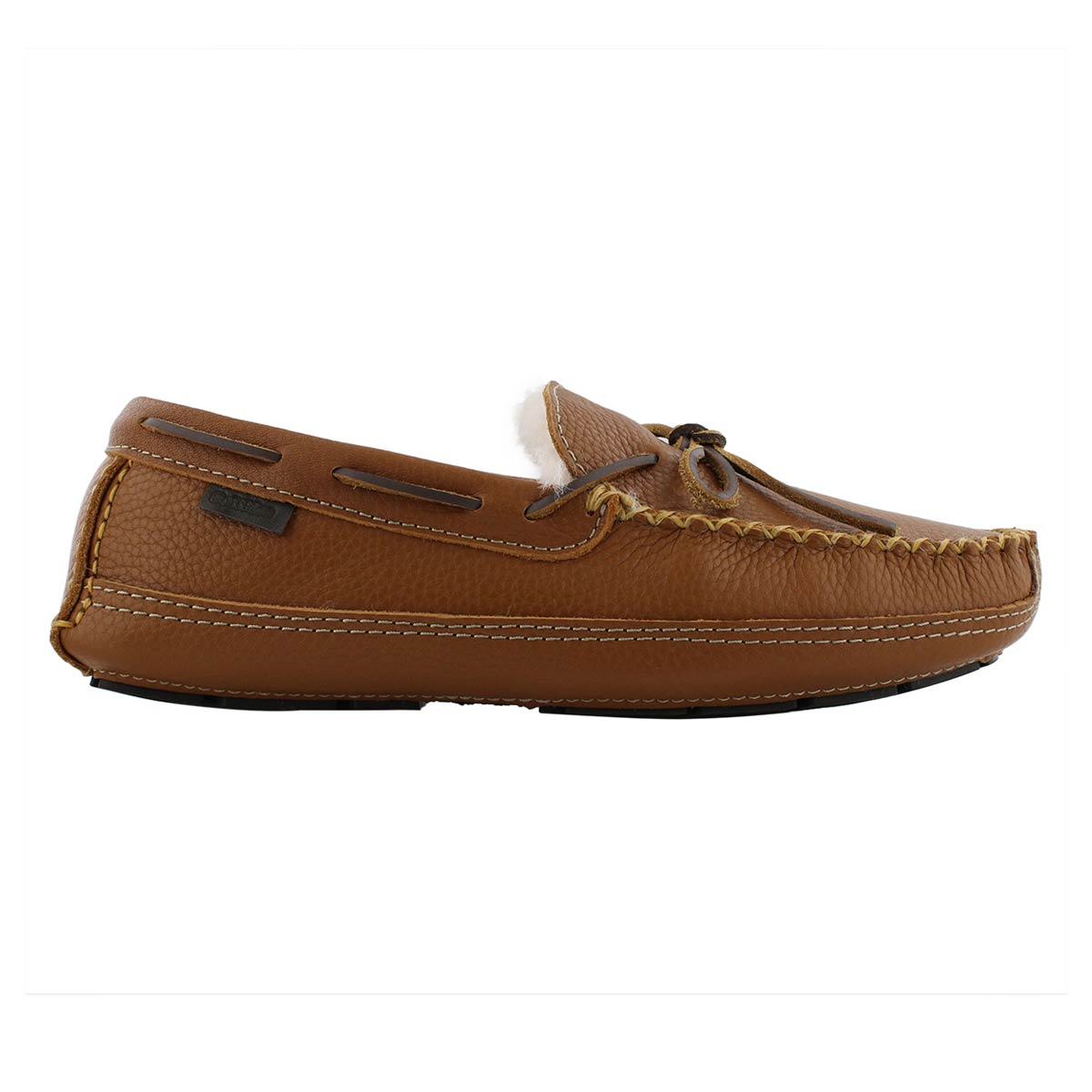 Mns Doyle tan leather moccasin