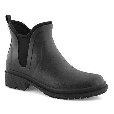 Lds Drew black wtpf chelsea boot