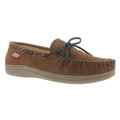 SoftMoc Men's DUKE spice lined suede moccasins