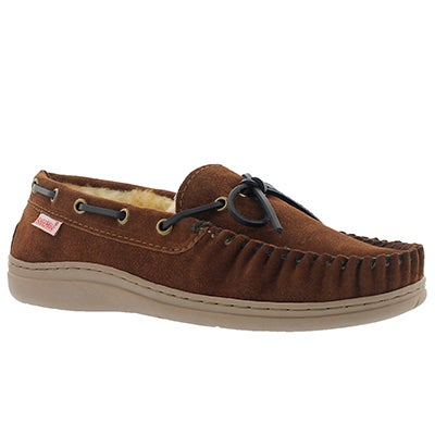 SoftMoc Men's DUKE II spice lined suede moccasins